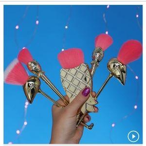 NEW🌺Tarte Flamingo MakeUp Brush Set